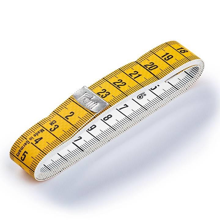 Maßband Junior, cm- oder cm/inch Skala