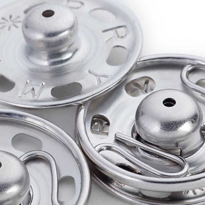 1 Pack=100Stück Rundösen aus Messing-Durchmesser von 10 mm vernickelt 18 mm