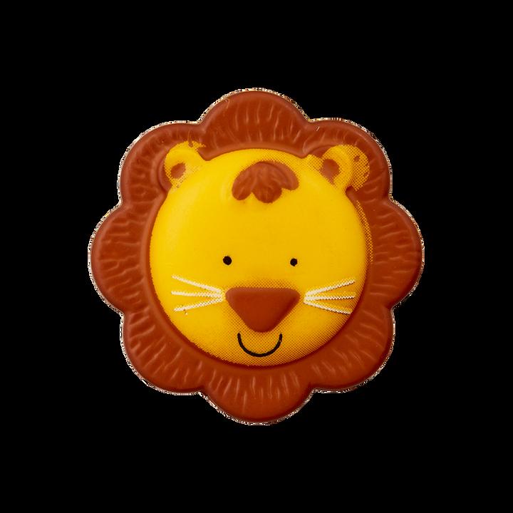 Polyesterknopf Öse Löwe