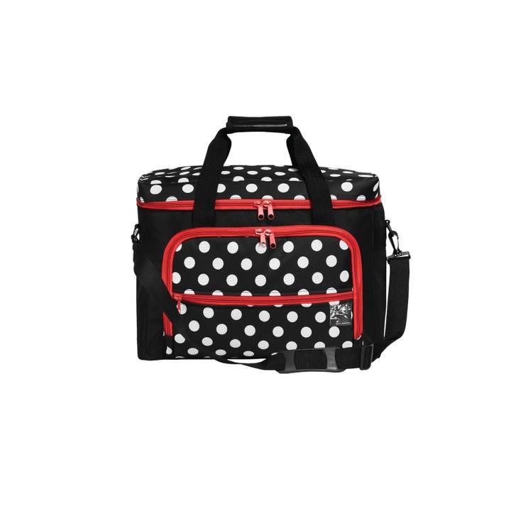Nähmaschinen-Tasche, Polka Dots