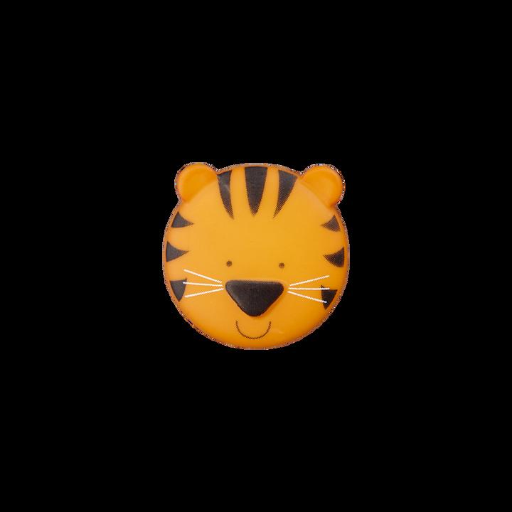 Polyesterknopf Öse Tiger