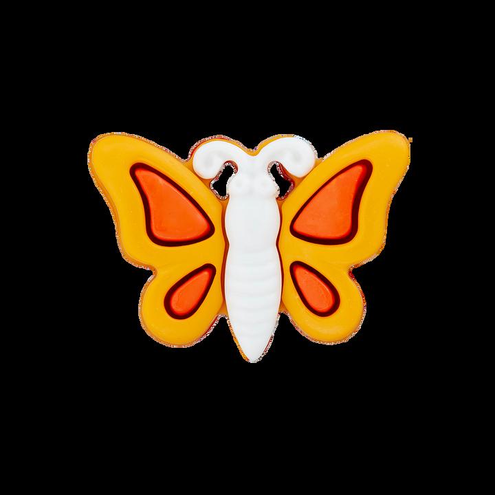 Polyesterknopf Schmetterling