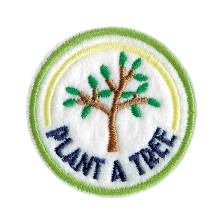 Applikation recycelt, PLANT A TREE