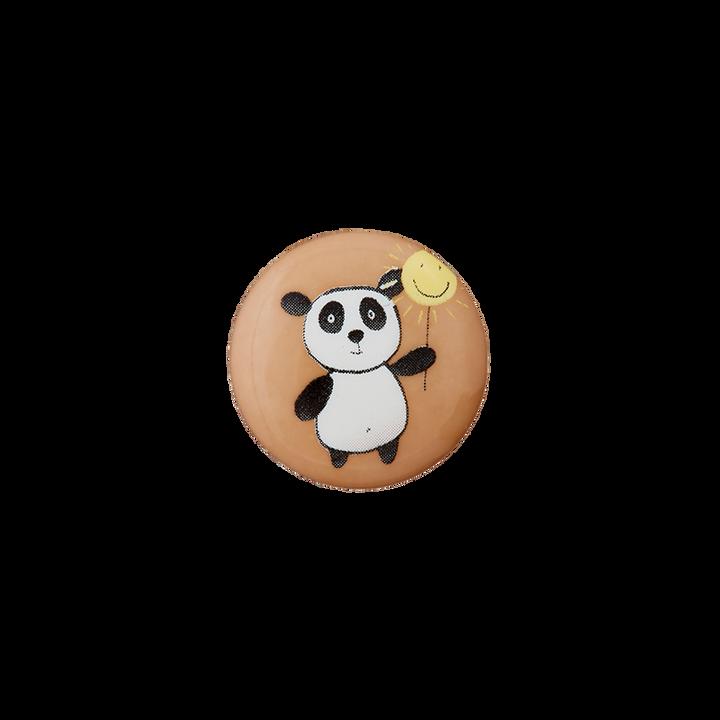 Polyesterknopf Öse Panda