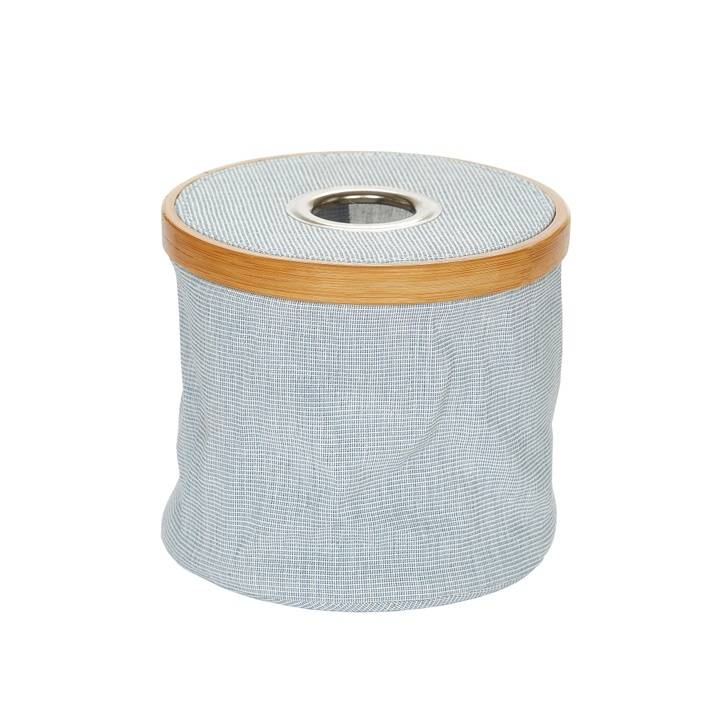 Wollspender Canvas & Bamboo faltbar blau