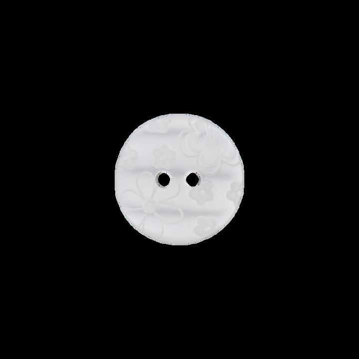 Polyesterknopf 2-Loch