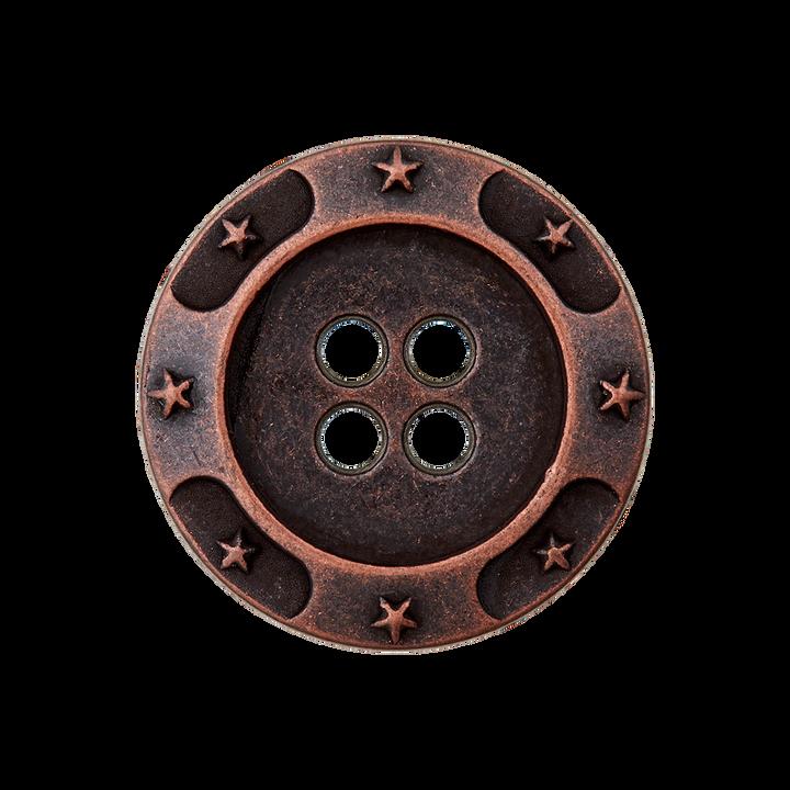 Metallknopf 4-Loch
