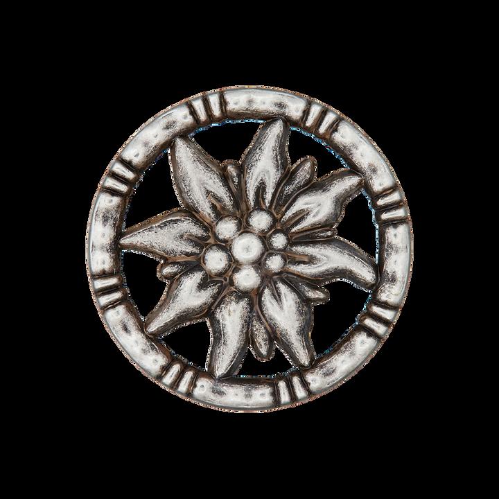 Metallknopf Öse