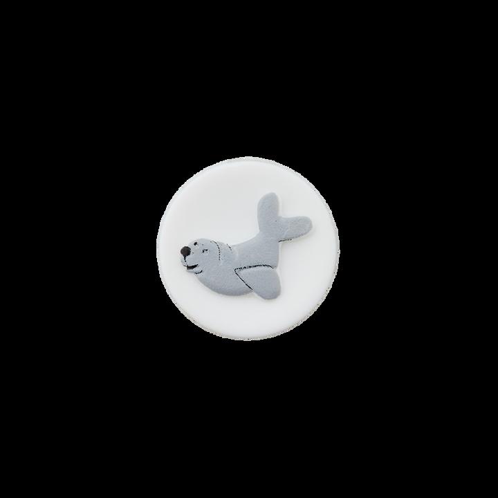 Polyesterknopf Öse Robbe