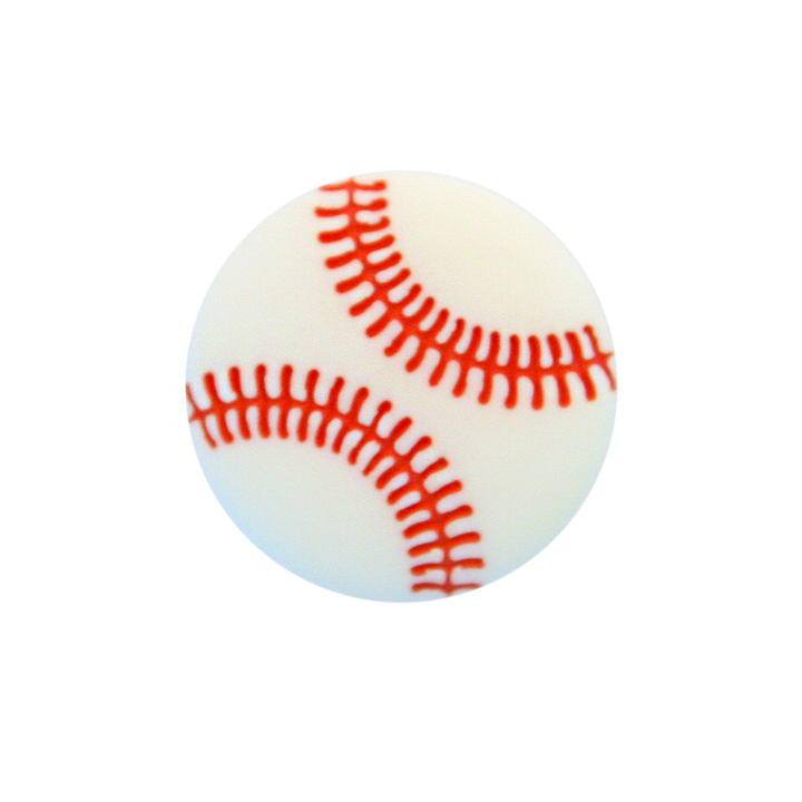 Polyesterknopf Baseball