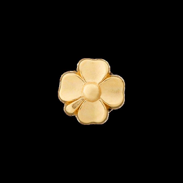 Metallknopf Öse, Blume