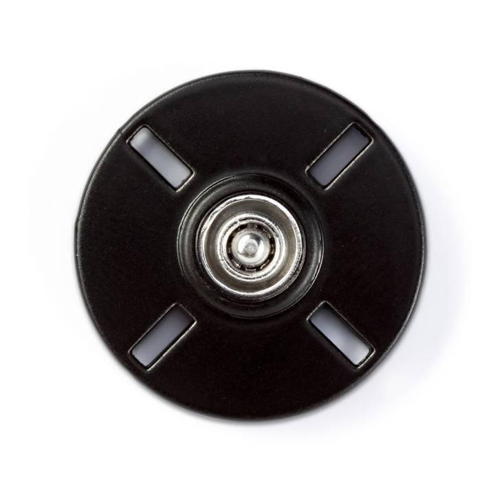 Annäh-Druckknöpfe, schwarz oder weiß