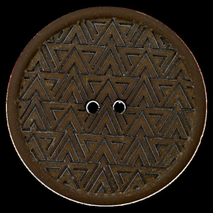 Hanf/Polyesterknopf Recycelt