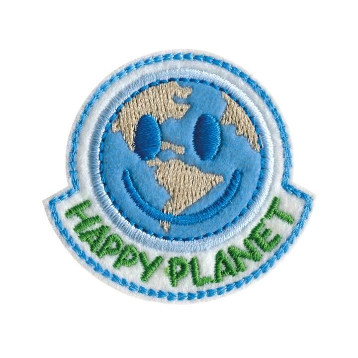 Applikation recycelt, HAPPY PLANET