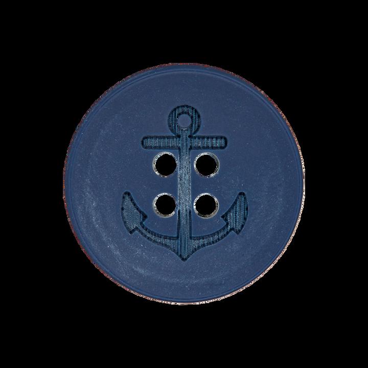 Polyesterknopf 4-Loch Anker