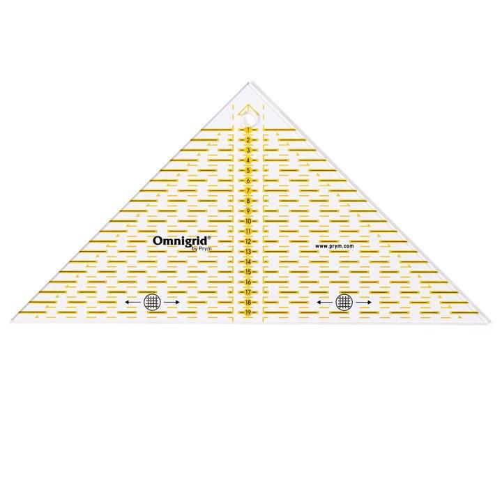 Flotte Dreiecke ʹOmnigridʹ, inch oder cm Skala
