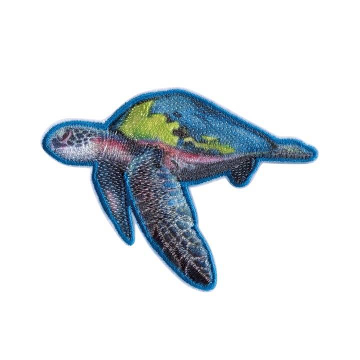 Applikation recycelt, Meeresschildkröte