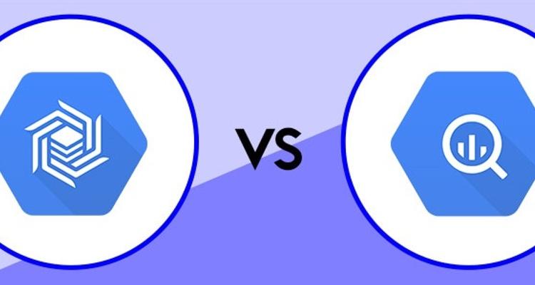 BigTable vs BigQuery