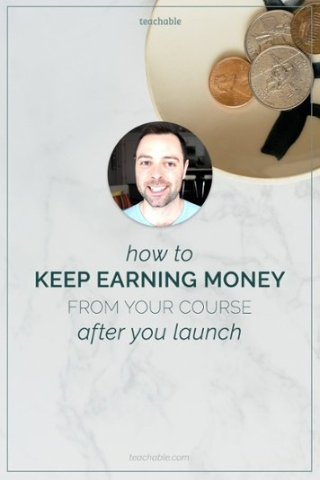 Earn money from your course even after you launch by using an evergreen course launch sequence. This gives every new subscriber to your list an opportunity to enroll in your course a fixed amount of time after they subscribe, instead of forcing them to wait until you open enrollment manually. Learn how to do this now from Nate Smith of the 80/20 Marketing.