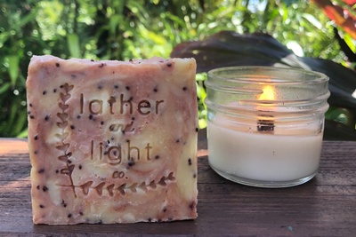 Candle and a soap! Photo 3