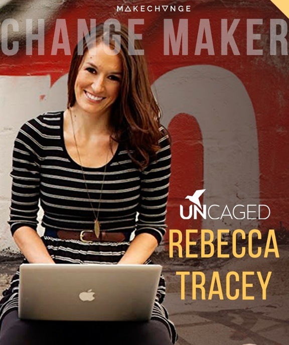 Read the full interview with Rebecca Tracey of The Uncaged Life for the full story of a free spirit who teaches others how to run a business from a laptop.
