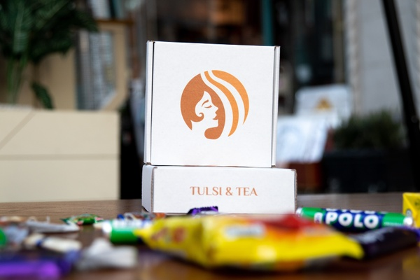 Tulsi and Tea Box Photo 1
