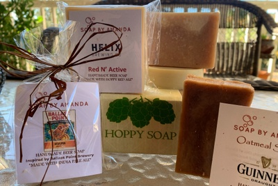 Soap by Amanda Small Batch Hoppy Soap Photo 2
