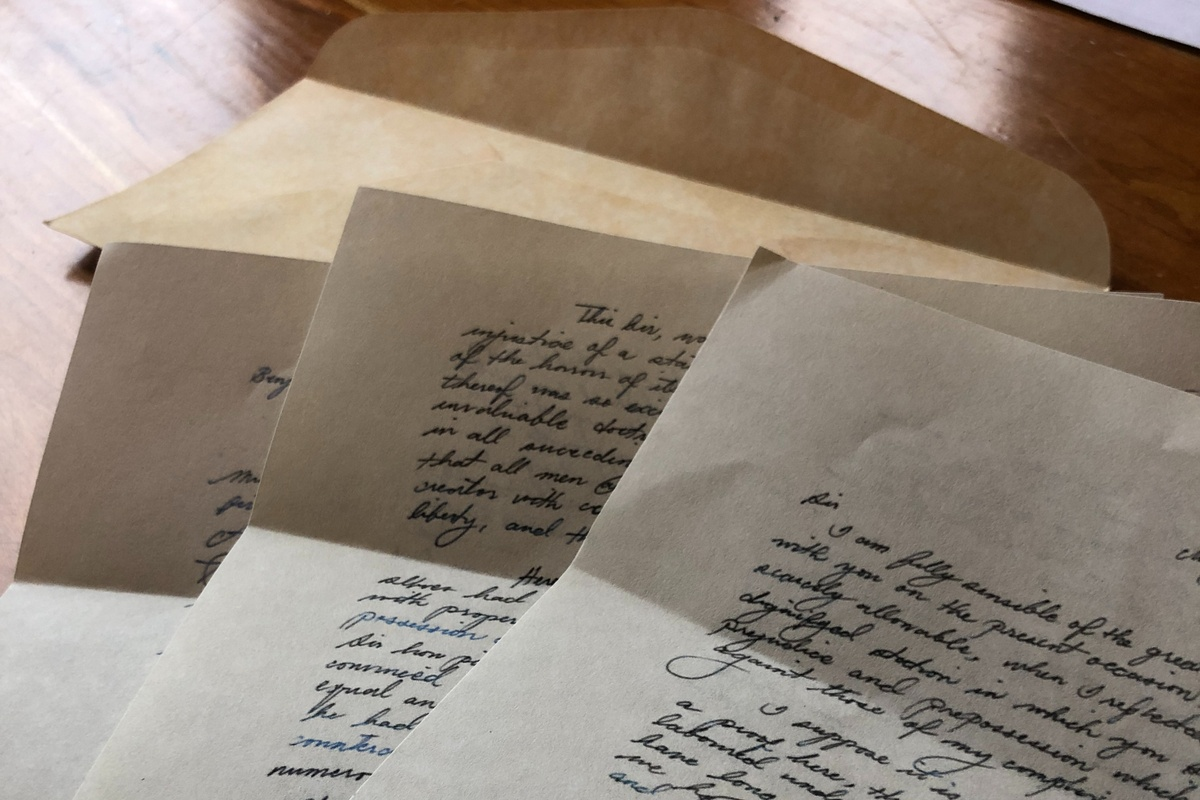 Black Heritage Letters Photo 1