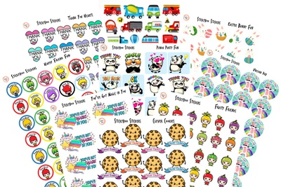 Teacher Stickers - Reward Stickers Kids Love! Photo 3