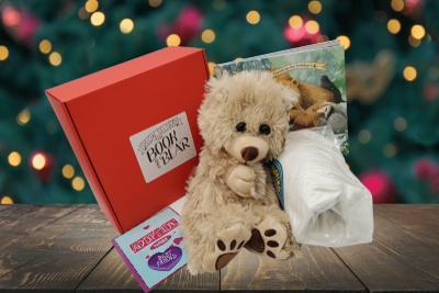 Book and Bear Box - Picture Book Photo 3