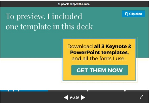 Free Keynote and PowerPoint Slide Templates