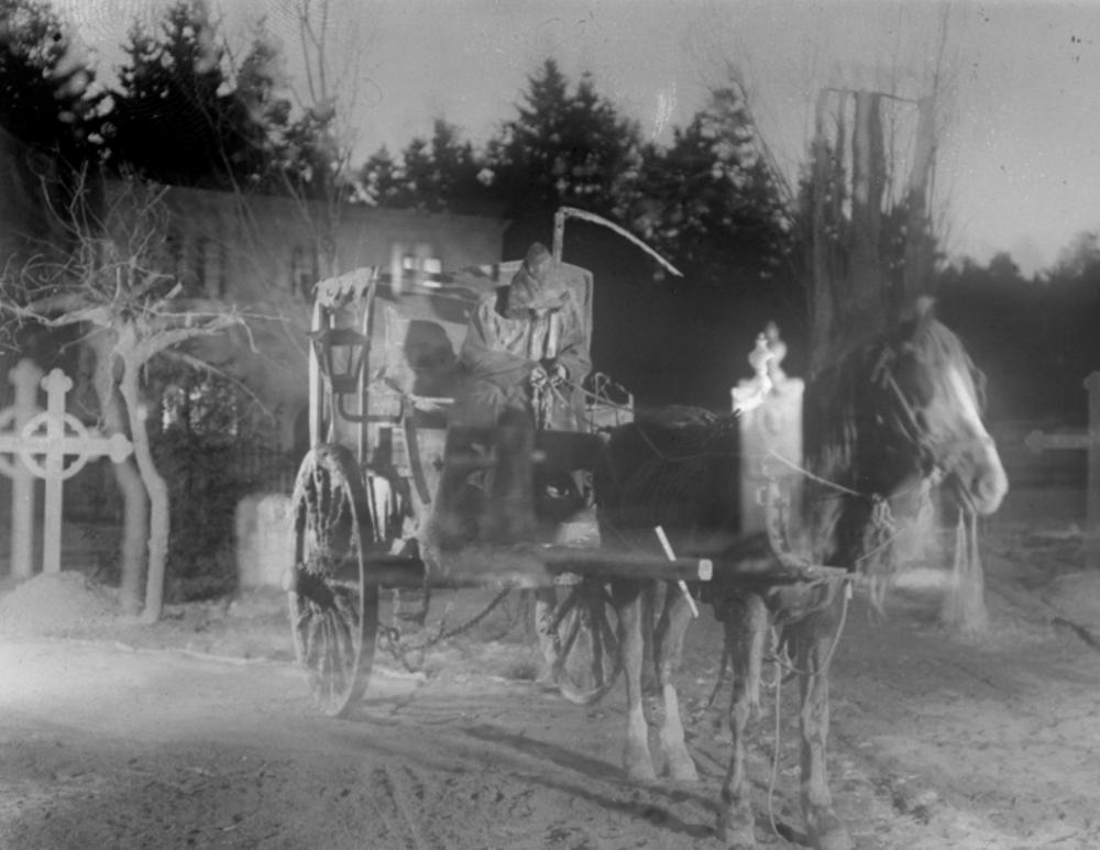 Körkarlen hade premiär för 100 år sedan på nyårsdagen. Foto: Julius Jaenzon © AB Svensk Filmindustri (1921)