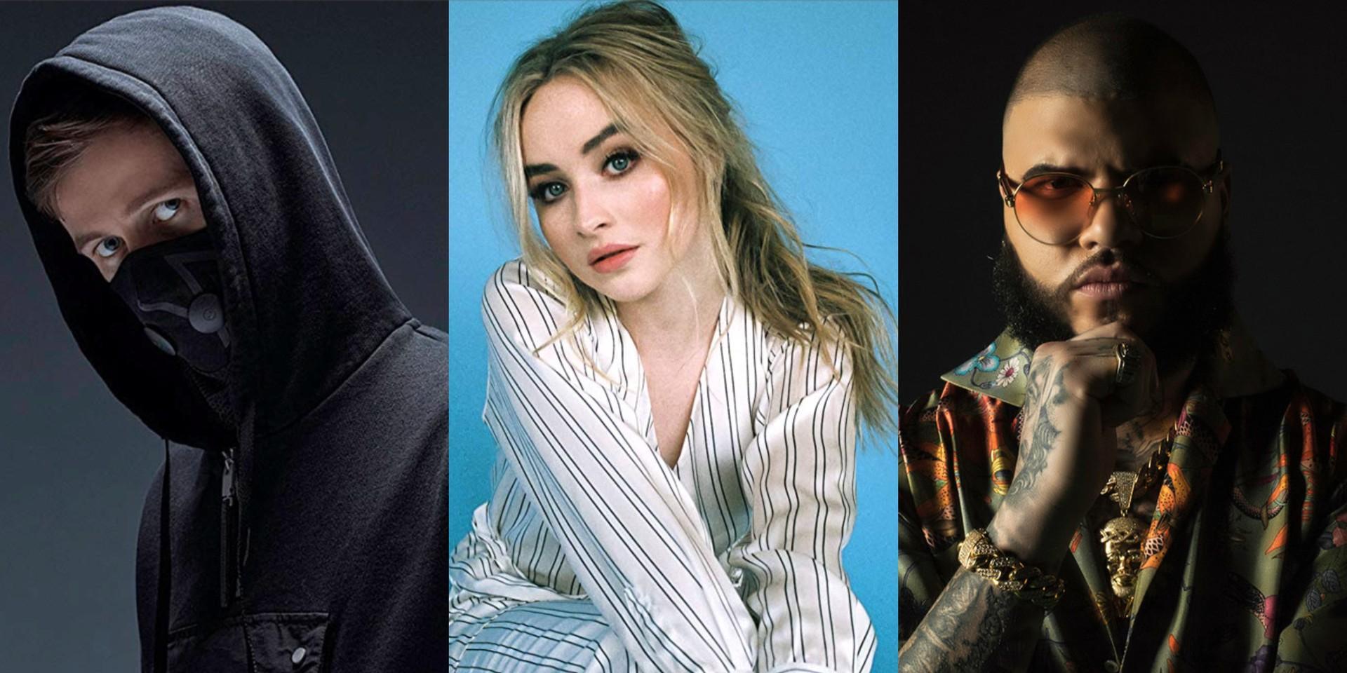 Alan Walker, Sabrina Carpenter and Farruko release future bass single 'On My Way' – listen