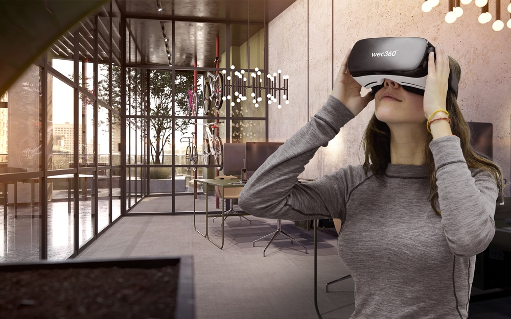 wec360° has visualized GDSNY's project 1245 Broadway, using Virtual Reality amongst other technologies.