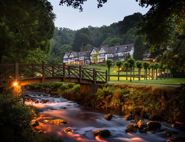 Two-Michelin-starred Gidleigh Park in Chagford, Devon