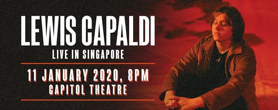 Lewis Capaldi - Live in Singapore 2020