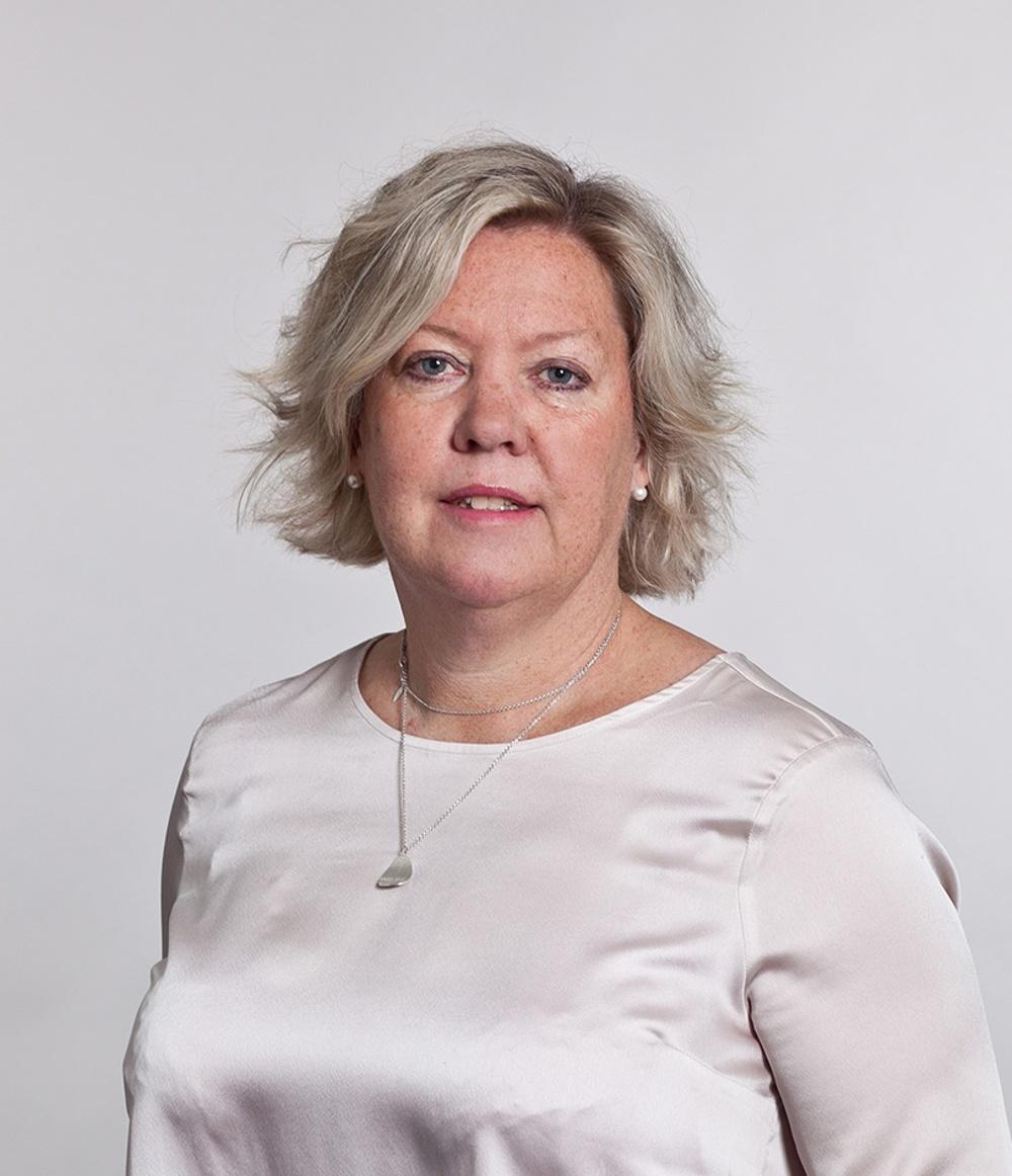 Porträttbild Carina Sjöberg. Foto: Magnus Karlsson