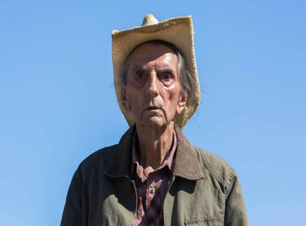 Harry Dean Stanton in his last film, Lucky, 2017