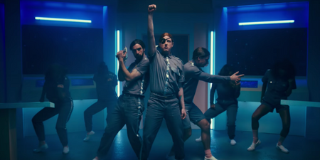 Two Door Cinema Club tries to avert a disaster in space in new music video for 'Satellite' – watch