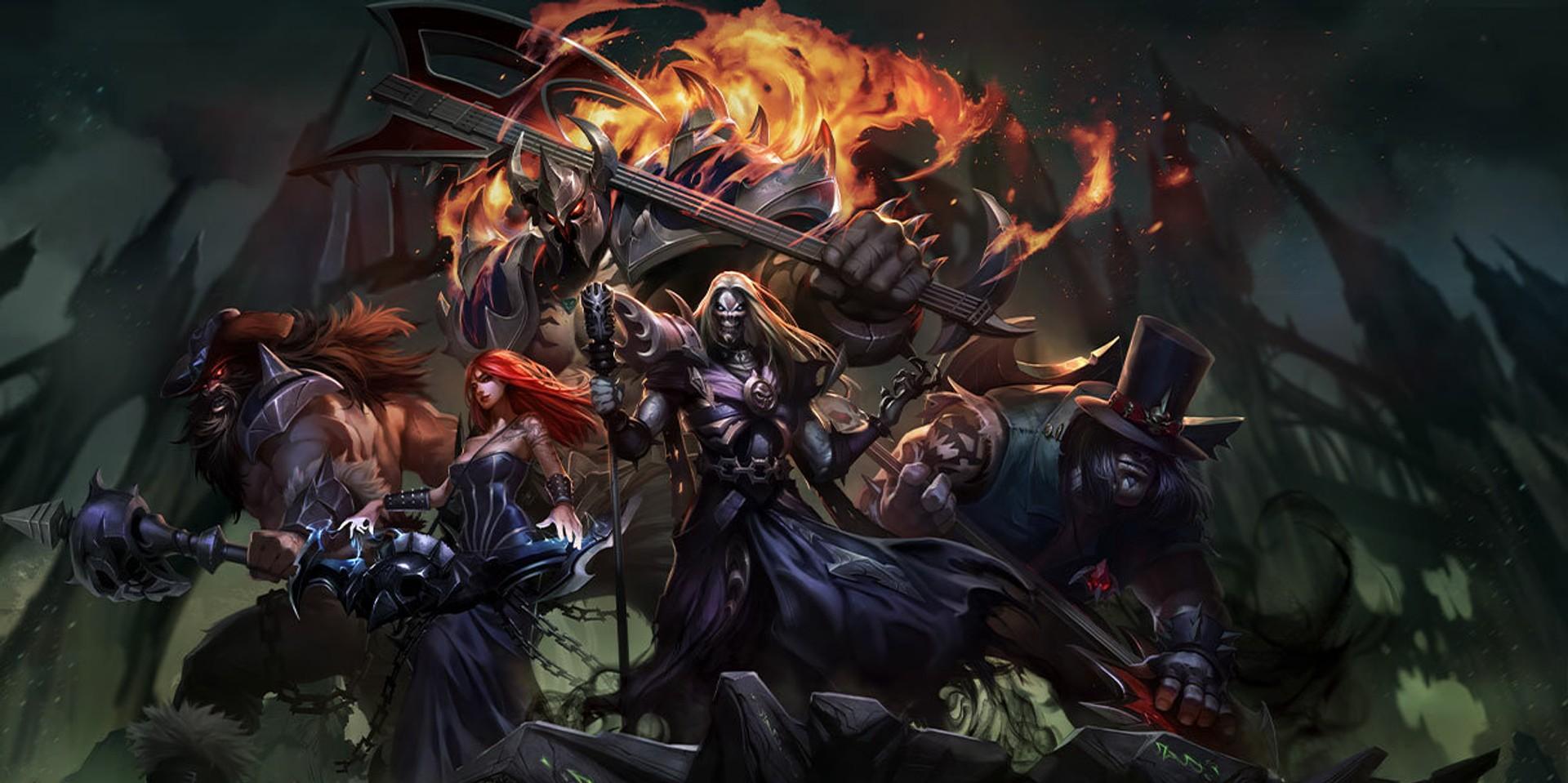 Virtual metal band PENTAKILL to hold comeback performance at League of Legends' 2021 Mid-Season Showcase