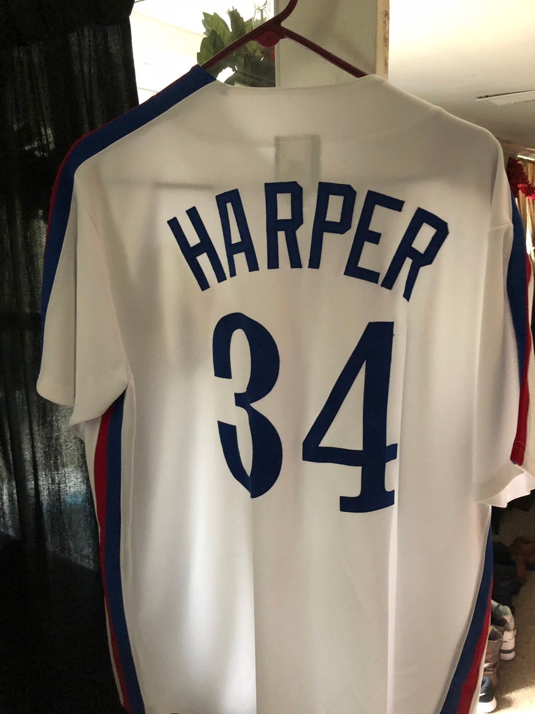 size 40 159d3 486c8 Rare Montreal Expos Bryce Harper Baseball Jersey back ...