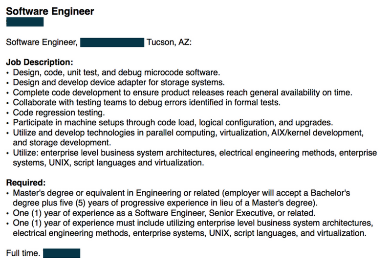 software engineer job description example - Responsibilities Of A Software Engineer