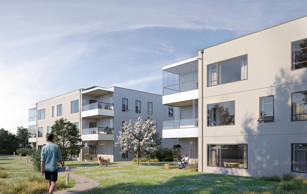 Residential development project in Greve, Denmark