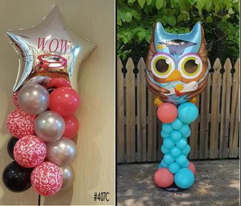 Balloon Column w/ Custom Topper