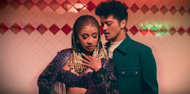 Cardi B entices a love-stricken Bruno Mars in music video for 'Please Me' - watch