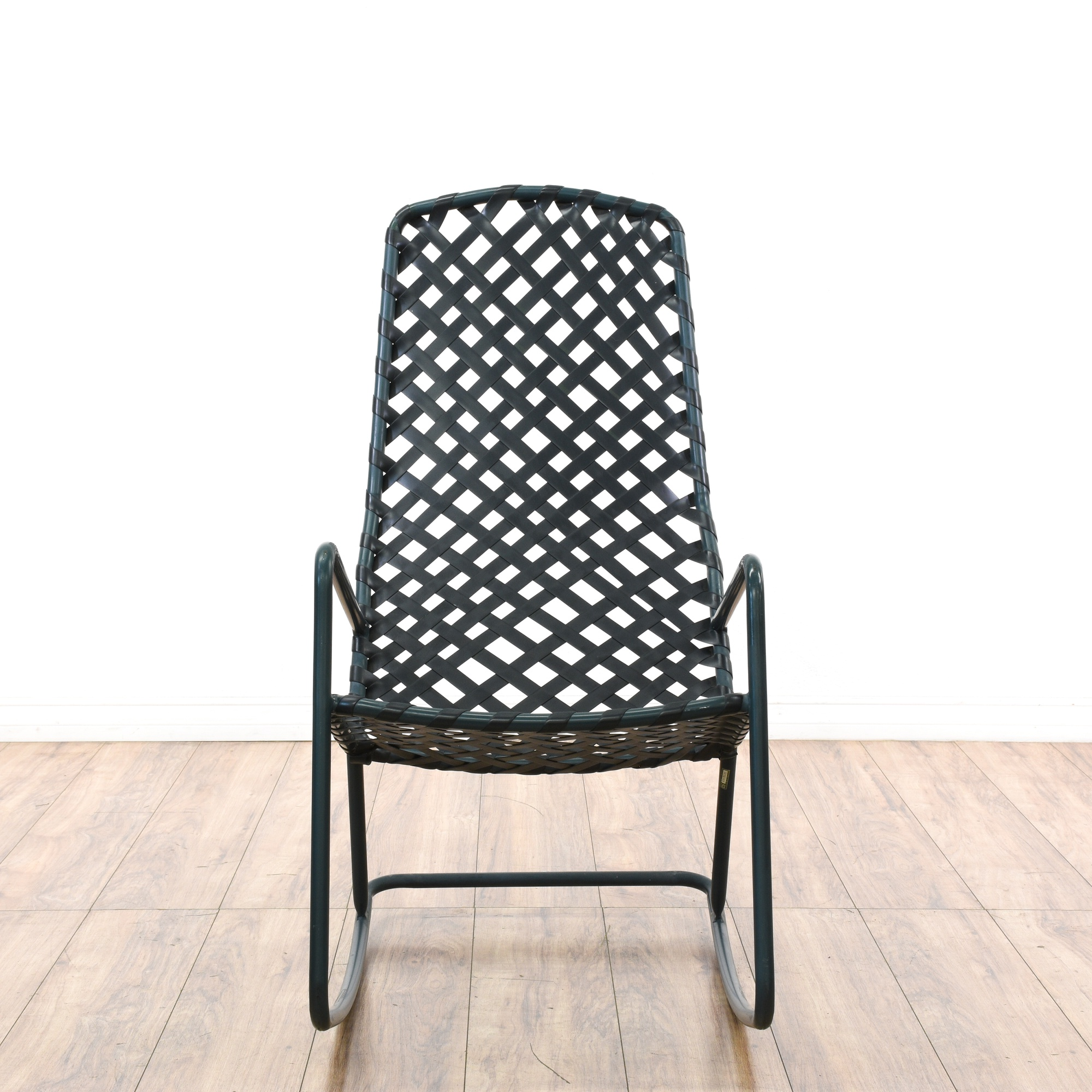 """Brown Jordan"" Tamiami Metal Outdoor Rocking Chair"