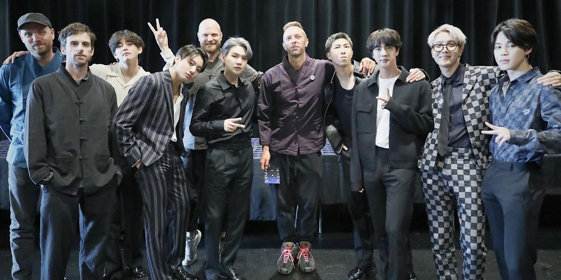 Coldplay and BTS unveil a constellation of wonder in their new collaborative single 'My Universe'  – listen