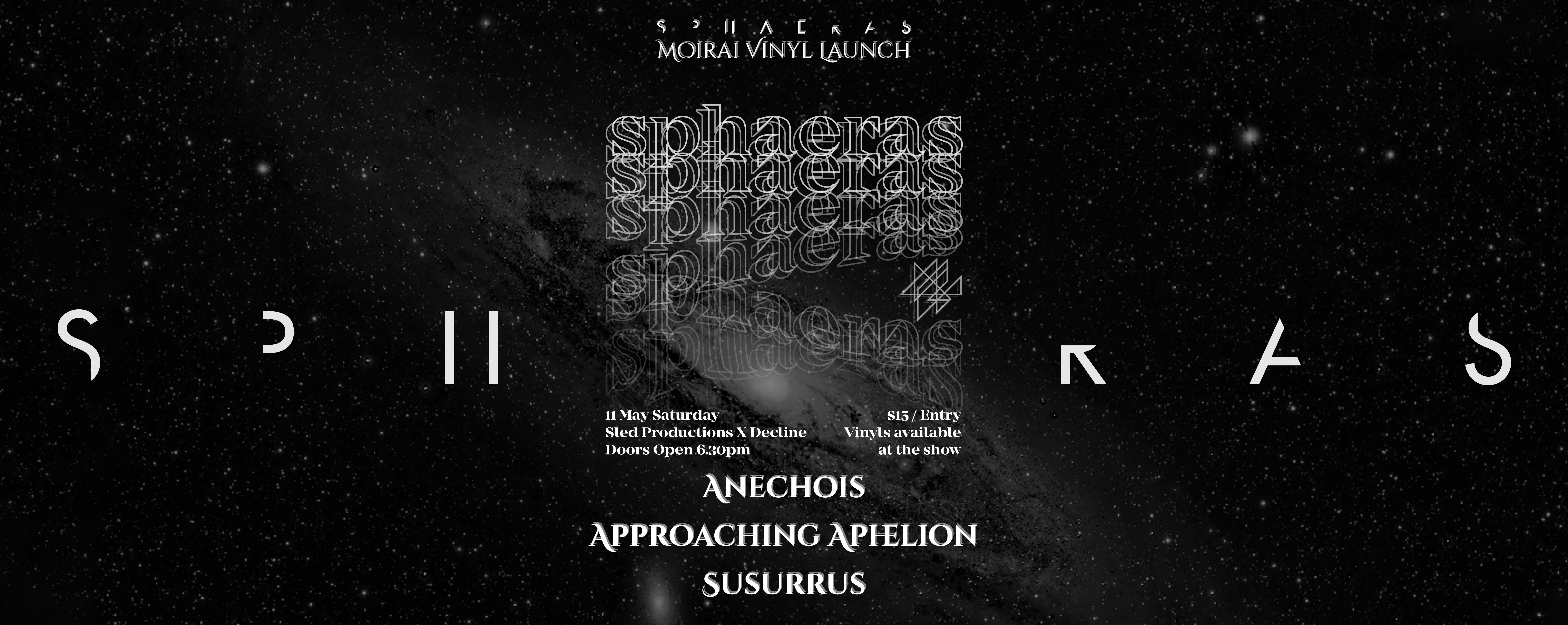 Sphaeras 'Moirai' Vinyl Launch