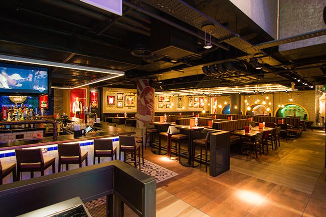 Hard Rock Cafe Cafe Interior Hero Shot