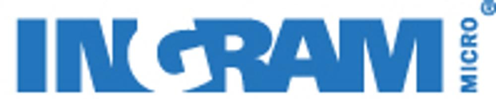 Ingram Micro logo blue